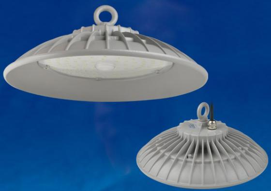 Подвесной светодиодный светильник (UL-00003180) Uniel ULY-U33B-100W/DW IP65 Silver уличный светодиодный светильник ul 00001861 uniel ulv r71j 100w nw ip65 silver