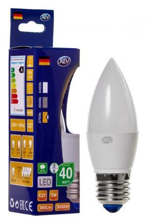Лампа светодиодная REV RITTER 32273 3 Е27 5Вт