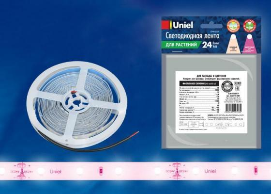 Светодиодная лента (0UL-00002565) фиолетовый ULS-P75-2835-70LED/m-10mm-IP65-DC24V-14,4W/m-3M-SPSB mq8 z45 dc 12v dc24v 10mm 4 8kg motion cirect current solenoid electromagnet