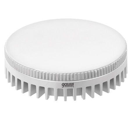 Лампа светодиодная GAUSS 108008206 LED GX53 6W 4100K gauss gx53 6w 220v желтый свет