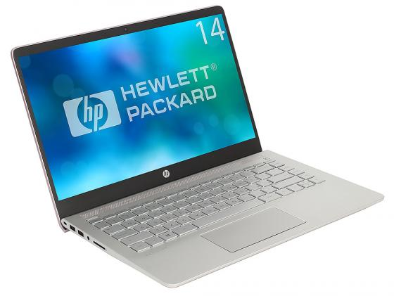 Ноутбук HP Pavilion 14-bf034ur 14 1920x1080 Intel Core i5-7200U 256 Gb 6Gb Intel HD Graphics 620 розовый Windows 10 Home 3FX23EA 511864 001 board for hp pavilion dv6 laptop motherboard with for intel chipset free shipping