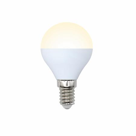 Лампа светодиодная шар Volpe 10217 G45 6W 3000K диско шар volpe uli q302