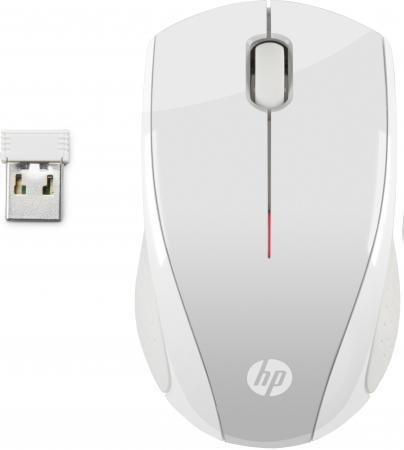 Мышь беспроводная HP X3000 P белый серебристый USB + радиоканал 2HW68AA мышь беспроводная hp x3000 чёрный usb