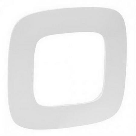 Рамка LEGRAND Valena Allure 754301 1-ая белая legrand legrand valena allure барокко нуар рамка 3 ая 754433