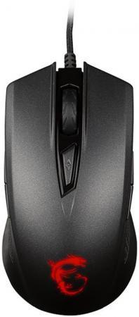 Мышь проводная MSI Clutch GM40 чёрный USB