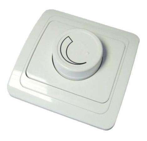 Диммер TDM SQ1804-0116 светорегулятор RL 600Вт поворотный белый валдай