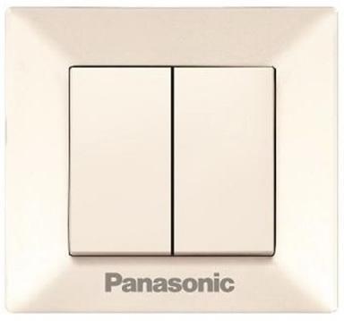 Выключатель PANASONIC WMTC0009-2BG-RES Arkedia 2кл крем