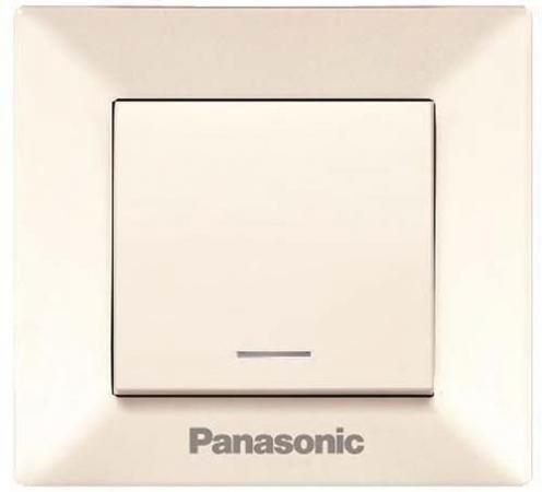 Выключатель PANASONIC WMTC0010-2BG-RES Arkedia 2кл свет крем