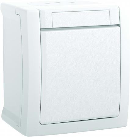 Выключатель PANASONIC WPTC4001-2WH-RES PACIFIC 1кл белый