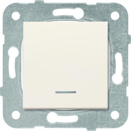 Механизм выключателя PANASONIC WKTT0002-2BG-RES Karre Plus 1кл с подсветкой крем