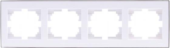 Рамка LEZARD 703-0225-149 серия Рейн 4-ая горизонтальная белый с хромовой вставкой костюм флисовый ирбис