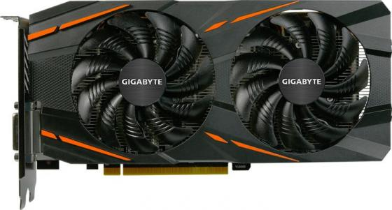 Видеокарта 4096Mb Gigabyte RX 570 PCI-E HDMI DP DVI GV-RX570GAMING-4GD-MI OEM цена 2017