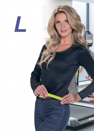 Футболка с длинным рукавом для похудения «ХОТ ШЕЙПЕРС», размер L SF 0219 футболка с длинным рукавом для похудения хот шейперс размер xl sf 0220