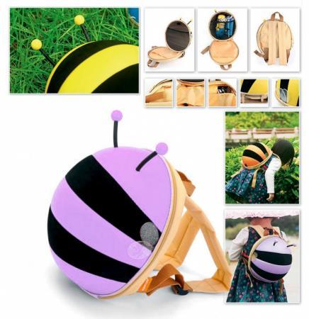 Ранец детский «ПЧЕЛКА» сиреневый DE 0185 bradex ранец детский пчелка цвет оранжевый