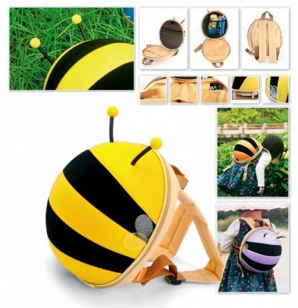 Ранец детский «ПЧЕЛКА» желтый DE 0183 bradex ранец детский пчелка цвет оранжевый