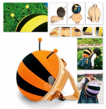 Ранец детский «ПЧЕЛКА» оранжевый DE 0184 ранец детский пчелка оранжевый de 0184 page 10