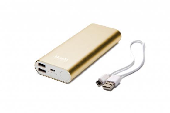 Аккумулятор внешний 10 000 mAh, золотой SU 0064 стоимость