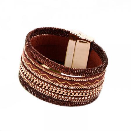 Браслет «БОХО» коричневый AS 0169 браслет bradex as 0001