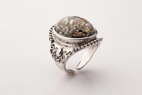 Кольцо «ВИНТАЖНАЯ ИСТОРИЯ» AS 0022 кольцо bradex аннабель