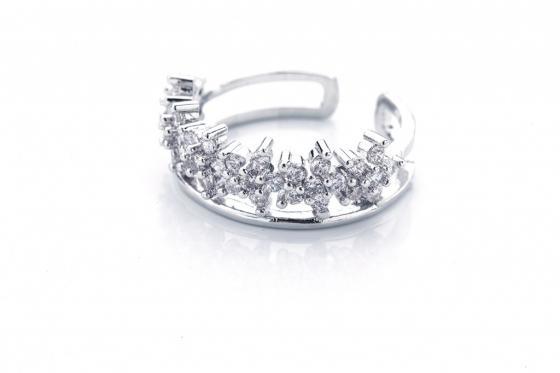 Кольцо «СНЕЖНАЯ КОРОЛЕВА» AS 0119 лонгслив printio снежная королева