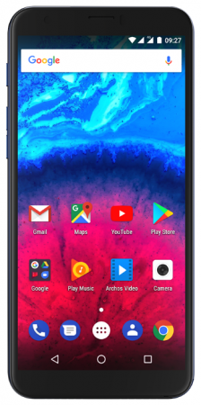 Смартфон ARCHOS Core 57s синий 5.72 16 Гб LTE Wi-Fi GPS 3G 503589 смартфон micromax q334 canvas magnus черный 5 4 гб wi fi gps 3g