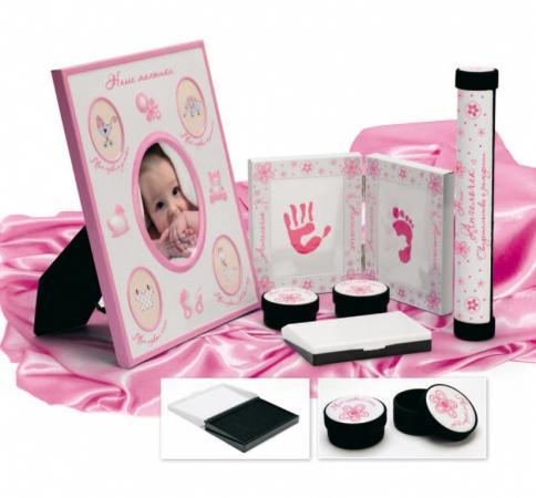 Набор подарочный для новорождённого «МОЯ МАЛЫШКА» DE 0132 набор подарочный для новорождённого моя малышка bradex de 0132