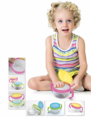 Контейнер для малышей «ПОЙМАЙ ПЕЧЕНЬЕ» голубой DE 0160 merba печенье два шоколада 200 г
