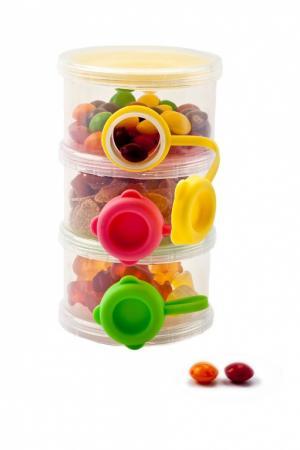 Трехслойный контейнер  боковыми отверстиями для пищевых сыпучих продуктов DE 0211