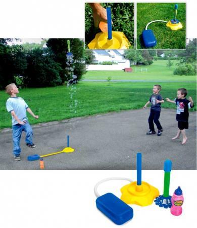 Ракета с мыльными пузырями и помпой «БАББЛ» DE 0178 веселая затея игрушка с мыльными пузырями мульти пузыри