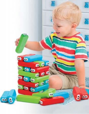 Настольная игра «ПАДАЮЩАЯ БАШНЯ» DE 0188 настольная игра dream makers семейная падающая башня