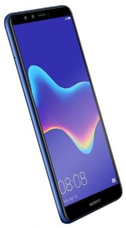 Смартфон Huawei Y9 2018 синий 5.93 32 Гб LTE Wi-Fi GPS 3G shs красный huawei y9 2018