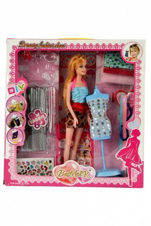 Набор для создания кукольного платья «Я ДИЗАЙНЕР» с куклой DE 0208 колонки bradex аквамарин td 0208 white