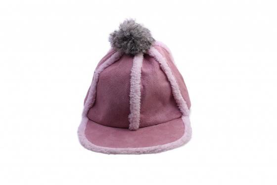 Шапка с помпоном розовая AS 0302 шапка женская bradex цвет розовый as 0298 размер универсальный