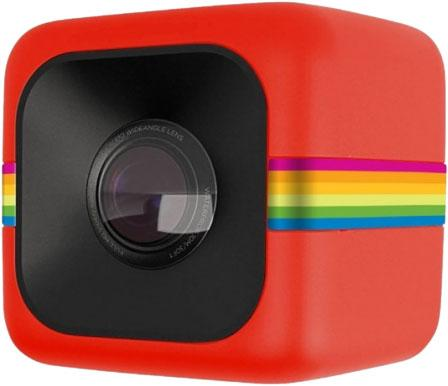 Экшн-камера Polaroid Cube+ POLCPR красный polaroid cube tripod mount крепление для экшн камеры