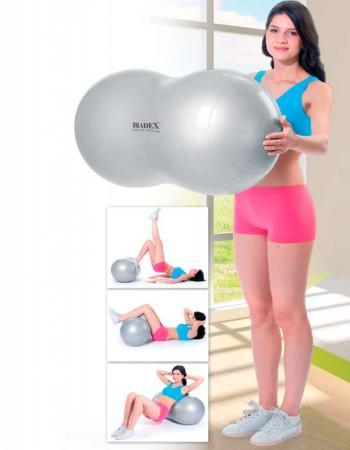 Мяч для фитнеса «ФИТБОЛ-АРАХИС» SF 0171 мяч для фитнеса йоги и пилатеса bradex фитбол 25 sf 0236