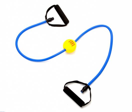 Эспандер с массажным шариком «ПРОФИ БОЛЛ» SF 0148 эспандеры bradex эспандер трубчатый с карабинами нагрузка до 11 кг синий