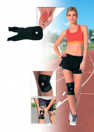 Суппорт колена регулируемый, универсальный размер SF 0244 цена