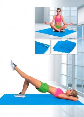 Коврик для фитнеса секционный SF 0242 коврик для йоги и фитнеса bradex секционный