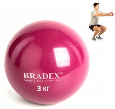 Медбол, 3 кг SF 0258 медбол grome fitness bl019 5k 5кг