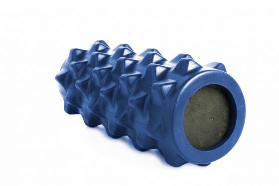 Валик для фитнеса массажный, синий SF 0248 пояс массажный с ик излучением bradex benice mini slimming