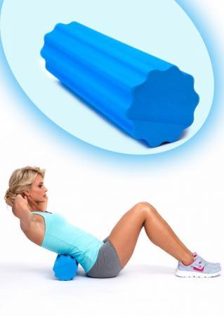 Валик для фитнеса массажный «РОЛЛЕР» SF 0283 пояс массажный с ик излучением bradex benice mini slimming