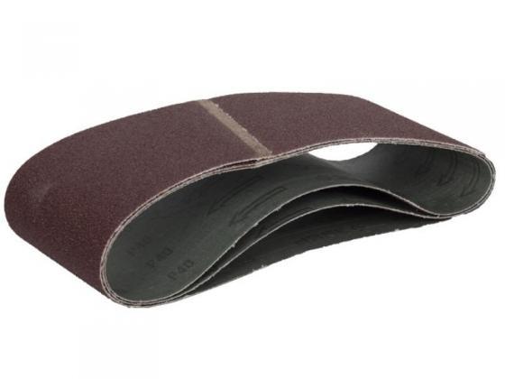 Лента шлифовальная бесконечная ЗУБР 35543-320 МАСТЕР на тканевой основе для ЛШМ P320 100х610мм 3шт лента шлифовальная бесконечная stanley sta33451 xj