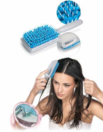 Фото - Щетка для сушки волос с микрофиброй KZ 0347 массажер bradex kz 0001 blue
