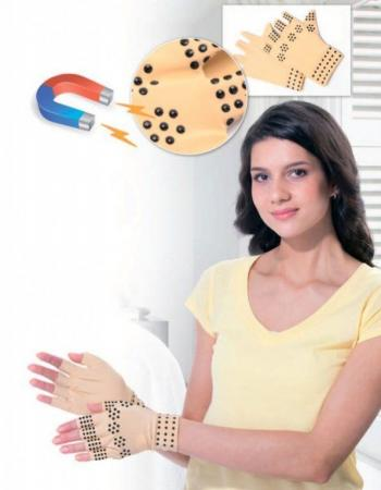 Перчатки утягивающие с магнитами 1 пара KZ 0316 цены онлайн