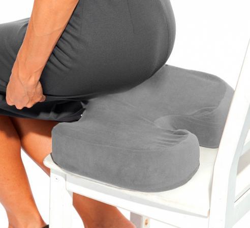 Подушка для сидения с памятью «ПОДУШКА-СИДУШКА ПРО» KZ 0276 подушки ортопедические bradex подушка ортопедическая с памятью здоровый сон