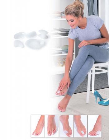 купить Набор силиконовых протекторов - защита ног от мозолей KZ 0364 по цене 170 рублей