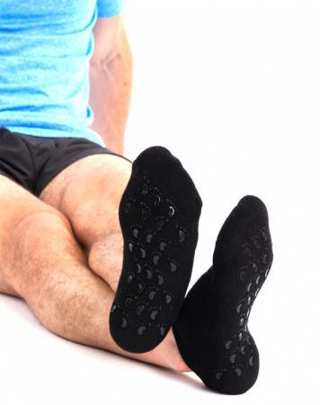 Носки с силиконовой подкладкой мужские 25см KZ 0254