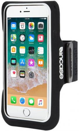 Спортивный чехол Incase Active Armband для iPhone 6 iPhone 6S iPhone 7 iPhone 8 чёрный INOM170391-BLK longer iphone 8766s