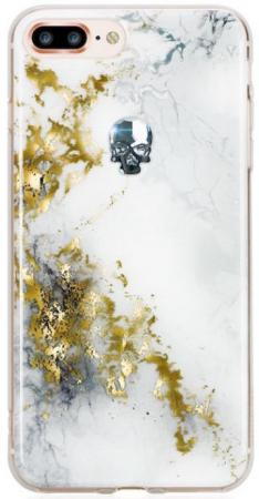 Накладка Bling My Thing Treasure Alabaster: Night Skull для iPhone 7 Plus iPhone 8 Plus белый ip8-l-tr-wh-svn lacywear vok 79 svn