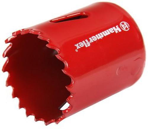 Коронка Hammer Flex 224-008 Bi METALL 38 мм коронка биметаллическая hammer 224 011 bimetall 57 мм